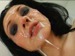 Bukkake, Hd, Facial, Passion hd, Xhamster