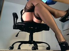 Stockings, Nylon, Nylon orgy, Xhamster