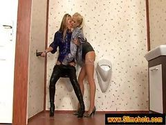 Blonde, Babe, Bath, Bathroom, Bathroom mature, Drtuber