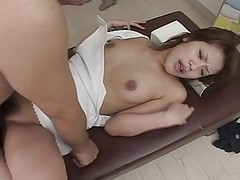 Nurse, Busty hot doctor and nurse fuck their sleeping, Xhamster