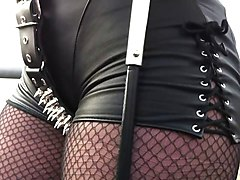 Smoking, Leather, Threesome leather, Xhamster