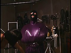 Latex, Lesbian, Mask, Latex brunette, Xhamster