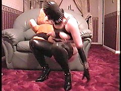 Rubber, Crossdressing sex latex rubber, Xhamster
