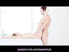 Blonde, Hd, Massage, Ass, Hd handjob, Pornhub