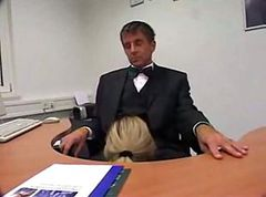 Office, Secretary, Milf, Girle punish girle with strapon in office, Xhamster