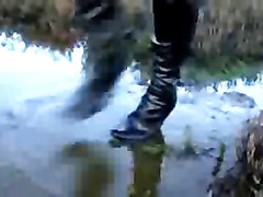 Boots, Squirting boots, Xhamster