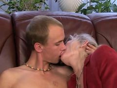 Granny, Granny fuked and boy, Gotporn