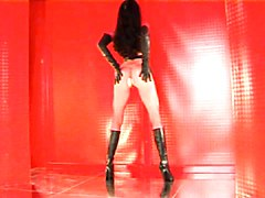Boots, Leather, Leather and lace, Xhamster