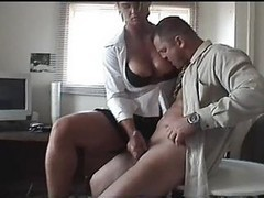 Handjob, Office, Handjob blowjob, Xhamster