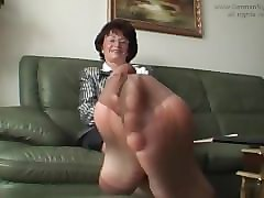 Nylon, Aunt, Aunt fucked in a kitchen while uncle is in a, Pornhub