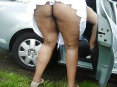 Car, Wife, Big boob bousing in car, Xhamster
