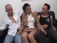 Asian, Japanese, Threesome, First threesome, Drtuber