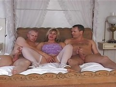 British, Milf, Threesome, Fat asses threesome seducetion, Xhamster