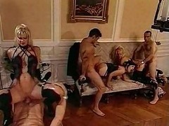 Orgy, Russian bisexual orgy party mmf, Xhamster