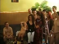 German, Orgy, Party, Orgy school, Xhamster