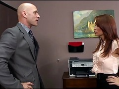 Office, Redhead, Gina wild in office, Xhamster