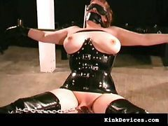 Rubber, Latex, Slave, Milf, Huge rubber dicks, Drtuber