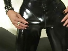 Latex, Latex swim, Xhamster