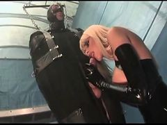 Foursome, Leather, Latex, Latex pony, Xhamster