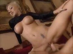 Blonde, Babe, 19 hot and mean big tit lesbian babes fucking, Drtuber