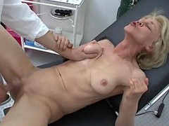 Granny, Doctor, Granny surprised by her in law, Xhamster