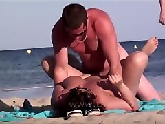 Nudist, Beach, White mature cougar mom is a nudist and gets it, Pornhub