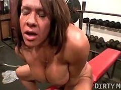 Gym, Sex at the gym, Xhamster