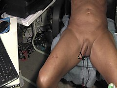 Electro, Pussy electro wired orgasm experience, Xhamster