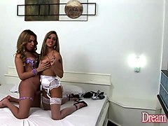 Shemale, Shemale And Girl, Strapon, Shemale and girl creampie, Xhamster