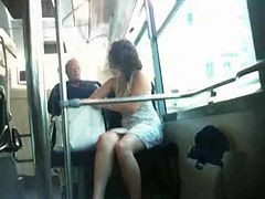 Bus, French, Upskirt, Japan bus, Xhamster