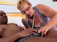 Granny, Glasses, Hairy, Ass, Huge dildo granny, Xhamster