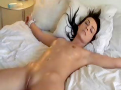 Beauty, Orgasm, Tied, Beautiful italian with hair, Xhamster