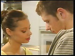 Kitchen, Black and withe fucking mature in kitchen, Xhamster