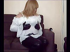 Panties, Leather, Leather boot, Xhamster
