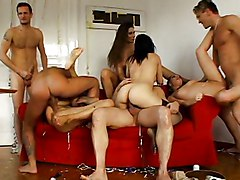 Group, American mature group, Redtube