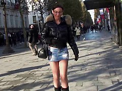 Boots, Babe, Public, Heels, Mella madison boots, Xhamster