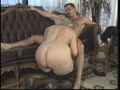 Granny, German, Orgy, Real swinger orgy, Xhamster